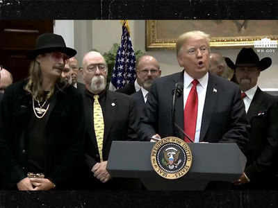 President Trump Signs Music Modernization Act, Kanye West Misses Out