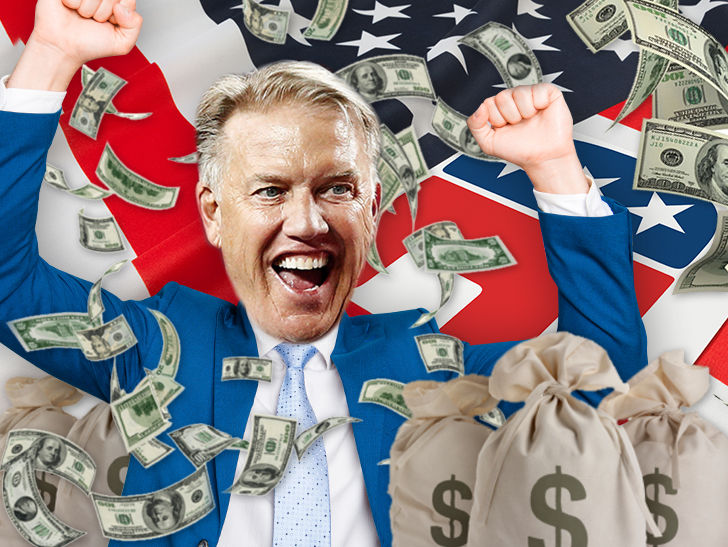 John Elway is donating tons of money to Republican candidates ahead of the midterm elections.