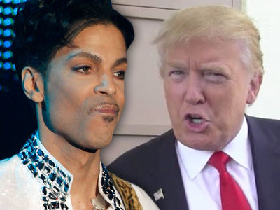 Prince Estate Demands Donald Trump to Stop Playing 'Purple Rain' at Rallies