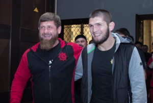 Khabib Nurmagomedov Meets With Ramzan Kadyrov