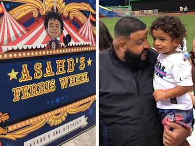 DJ Khaled Rents Out Entire Baseball Stadium for Son Asahd's 2nd Birthday Party