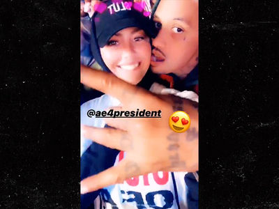 Amber Rose Rocks Out With New Boyfriend at System of a Down Concert