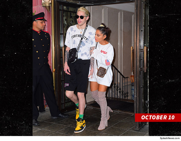 Ariana Grande and Pete Davidson Split After Whirlwind Engagement