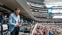 Conor McGregor Meets the Dallas Cowboys, Hands Out Bottles of His Whiskey