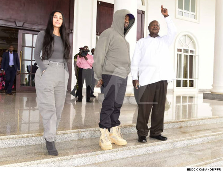 Kanye West Tells President of Uganda 'This is Going to be Like Jurassic Park'