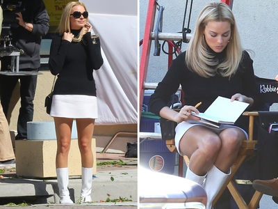 Margot Robbie Looks Uncanny as Sharon Tate On Set of 'Once Upon a Time'