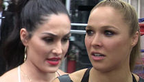 Nikki Bella Rips Ronda Rousey, You're An Entitled 'Do Nothing Bitch'