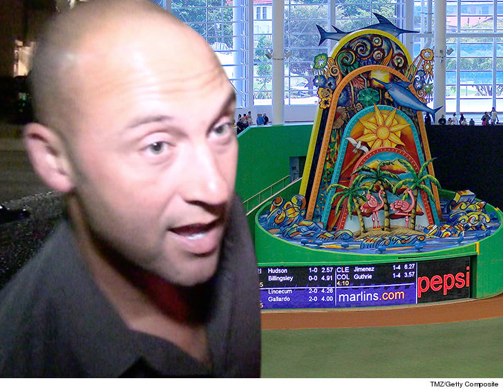 Win for Jeter: Marlins' home run sculpture will be moved | AP entertainment