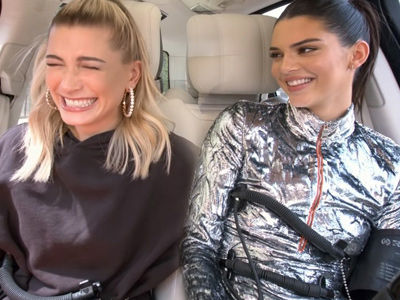 See How Hailey Baldwin LIED About Justin Bieber During 'Carpool Karaoke' with Kendall Jenner