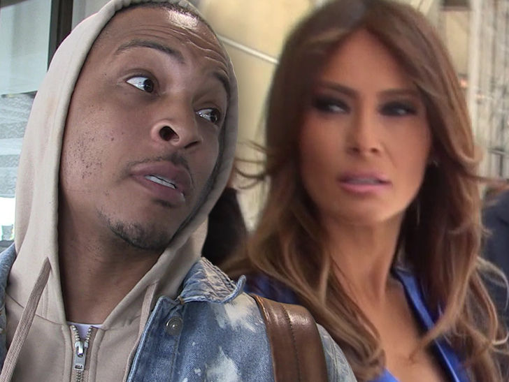 T.I.'s Melania Trump Look-alike Stripper Video Pisses Off Her Office