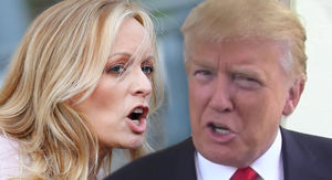 President Trump Calls Stormy Daniels 'Horseface,' She Responds with Penis Joke