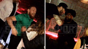 Conor McGregor Hit the Club with Ezekiel Elliott after Cowboys Game