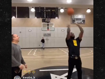 Meek Mill Wins $50k Trick Shot Bet With 76ers Owner