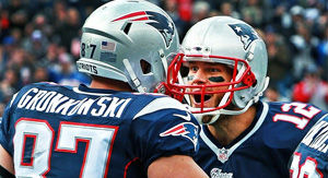 Patriots' Tom Brady Reacts To Rob Gronkowski Denting Lombardi Trophy