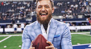 Conor McGregor Has Hilarious Reason For His Heavily Mocked Football Throw