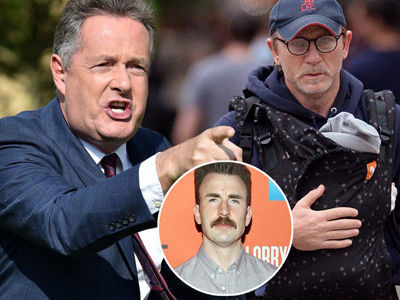 Chris Evans SLAMS Piers Morgan for Mocking Daniel Craig Over THIS Photo with His Baby