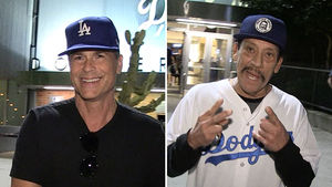 Rob Lowe & Danny Trejo Talk Dodgers After Game 3 NLCS Loss
