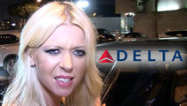 Tara Reid Says Delta Wanted Her Dog Put in Overhead Bin, Delta Says BS