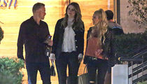 Mischa Barton Shooting 'Hills' Reboot with Heidi Montag & Spencer Pratt