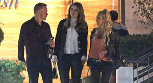 Mischa Barton Shooting 'Hills' Reboot with Heidi Montag & Spencer Pratt