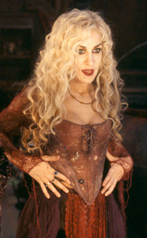 Sarah Jessica Parker played the part of Sarah Sanderson