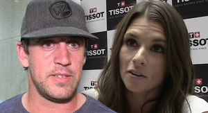 Aaron Rodgers Says He's In Love with Danica Patrick