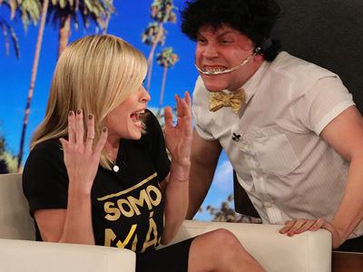 See How Ellen Made Chelsea Handler SCREAM & All of Her Best Show SCARES!