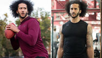 Colin Kaepernick Still Training Everyday, Lifting, Throwing Running
