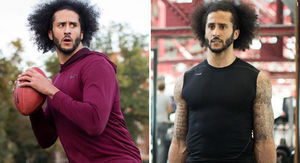 Colin Kaepernick Still Training Everyday, Lifting, Throwing and Running