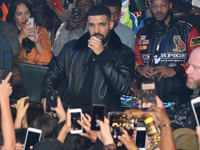 Drake Surprises West Hollywood Clubgoers with McDonald's Treats
