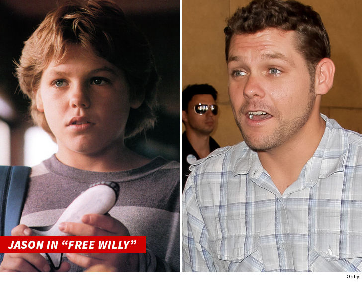 'Free Willy' actor Jason James Richter arrested for domestic violence