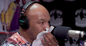 Mike Tyson Chokes Back Tears Talking About Night…