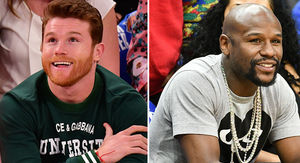 Canelo Alvarez to Floyd Mayweather, I Got NBA Floor Seats Too!