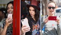 Celebrate Apple Day With These Stars On iPhones!