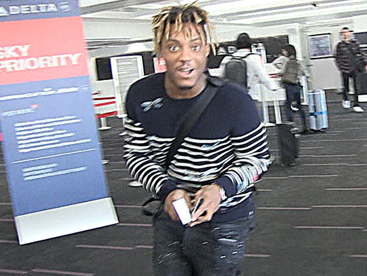Rapper Juice WRLD Blown Away After Sting Gives 'Lucid Dreams' Thumbs-Up