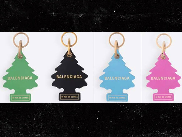 Balenciaga Sued by Little Trees Air Fresheners Co. for Jacking Idea