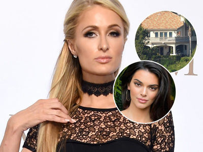 Paris Hilton -- Kendall Jenner's Neighbor! -- Has a Stalker Problem, Too (Exclusive)
