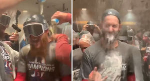 Red Sox Celebrate World Series Berth With Boston…