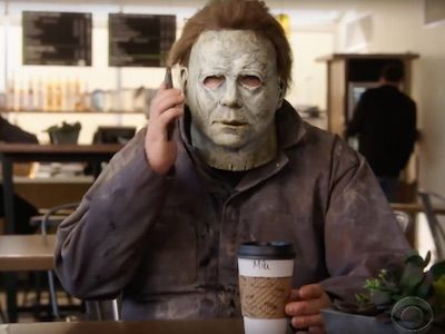 Corden KILLS IT as Michael Myers in HILARIOUS 'Making a Murderer' Parody with 'Halloween' Twist
