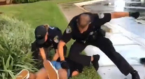 Florida Cop Punching Teenage Girl Pinned to Ground During Arrest in Shocking Video