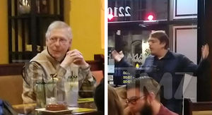 Senator Mitch McConnell Confronted at Restaurant by Angry Customers