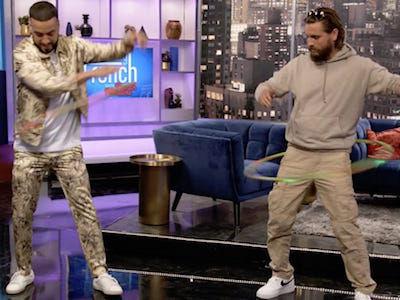Scott Disick EMBARRASSES French Montana in 'BRUTAL' Talk Show Prank