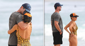 Chris Hemsworth's in Full PDA Mode with Wife Elsa Pataky in Australia