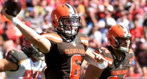 Baker Mayfield's Reaction To Bucs' Game-Winning FG Became Instant Meme