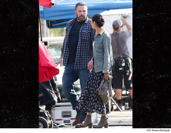Ben Affleck Back On Movie Set Shooting Addiction Role On Heels Of