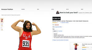 Caitlyn Jenner Olympic Costume Maker Refuses to Pull It Despite Backlash