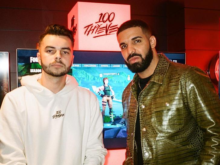 Drake, Scooter Braun Buy Ownership Stake In 100 Thieves eSports Brand