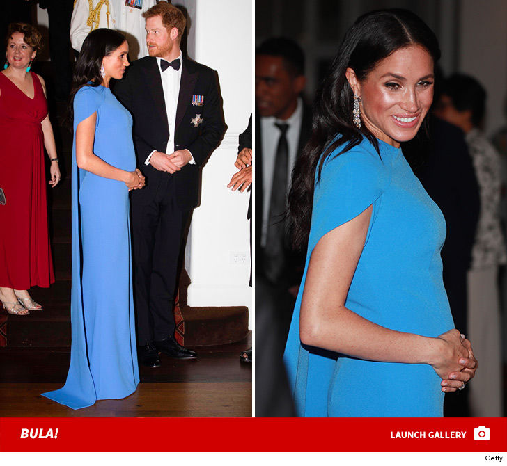 Meghan Markle Can't Hide Baby Bump Anymore