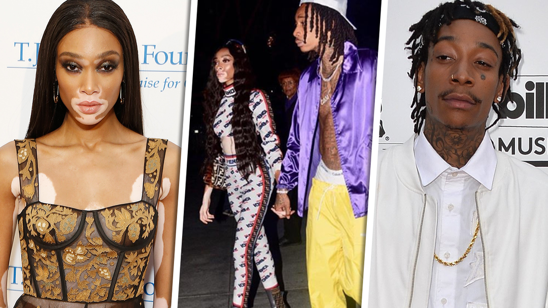 Winnie Harlow Wiz Khalifa Show Pda For First Time As A Couple