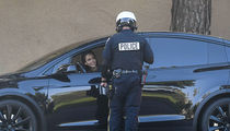 Jessica Alba Let Off with Warning After Cop Pulls Her Over for Cell Phone